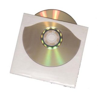 Adhesive-Backed CD/DVD Sleeves