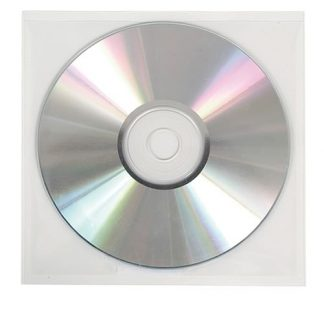 Clear or Poly-Vinyl CD/DVD Sleeves