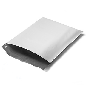 White Poly Mailers